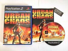 URBAN CHAOS PS2 Playstation 2 PAL ITA