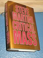 Critical Mass by Steve Martini HC/DJ BCE FREE SHIPPING 0399143629