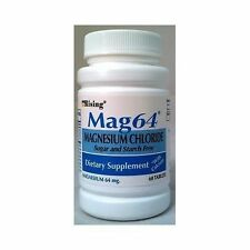 MAG 64 MAGNESIUM CHLORIDE WITH CALCIUM 60 TABLETS