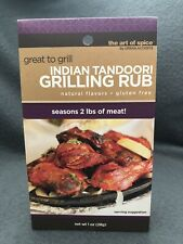 INDIAN TANDOORI GRILLING RUB SPICE MIX ALL NATURAL, GLUTEN FREE