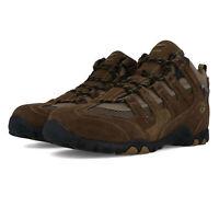 Hi-Tec Mens Quadra Mid WP Walking Boots Brown Sports Outdoors Breathable