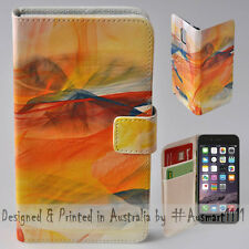 """Wallet Phone Case Flip Cover for Apple iPhone 6 6S - 4.7"""" Abstract Multi Colour"""