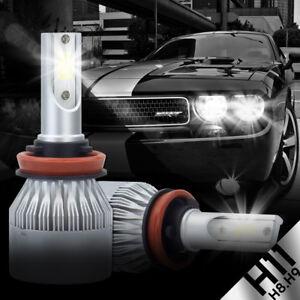 2x Xenon Cree LED H11 H8 H9 12 SMD White Headlight Low Beam Lights Bulbs 12V