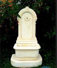 Medium Garden Fountain - Antique Style Wall Sink Stone Waterworks 113 cm height
