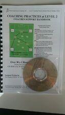 FOOTBALL COACHING  FA LEVEL 2 PRACTICES HANDBOOK & CD, PLUS FITNESS TRAINING