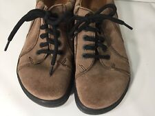 BIRKENSTOCK FOOTPRINTS SUEDE LEATHER SHOES / OXFORDS / Womens 38 / 8-8.5 Narrow