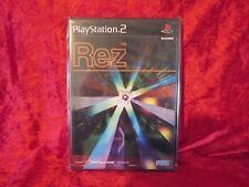 REZ  NEW & Sealed, Sony Playstation 2 PS2 Japanese Shoot-em-up Jpn SLPM-62101
