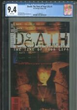 DEATH: THE TIME OF YOUR LIFE 1 GAIMAN STORY McKEAN COVER CGC NEAR MINT 9.4