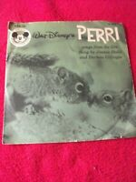 Walt Disney Perri 78 record sleeve only no record Mickey Mouse Club