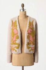 Anthropologie Lasiandra Cardigan Open Front Sweater Top By Amalialad, Size M