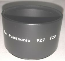 58mm Adaptador Tubus para Panasonic FZ7, FZ8, FZ18, FZ28, FZ38
