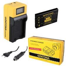 Batterie Patona + Chargeur Synchron LCD USB Pour Aiptek Action HD