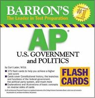 AP US Government and Politics Flash Cards (Barron's: the ... by Curt Lader Cards