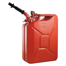 Gas Can,5 gal.,Red,Include Spout 2238C