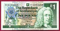 Royal Bank of SCOTLAND £1  1 POUND - EU SUMMIT 1992 - UNC    *QWC*
