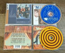 Nsync CD Lot - Self Titled S/T ST & No Strings Attached - Justin Timberlake