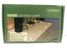 10 Pack Of 12V DC LED Deck Lights With Controller