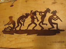 Kokopelli Wall Art Western Rustic Cabin Home Decor Horse Rodeo Cowgirl