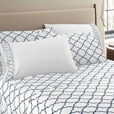 Bed Sheet Set 1800 Series 6 Piece Deep Pocket Soft Bed Sheets Size Queen