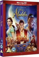 ALADDIN [Blu-ray 3D + 2D] (2019) Exclusive Disney UK Release Live Action Movie
