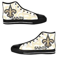 New Orleans Saints Custom Sneakers High Top Canvas Casual Mens Shoes