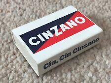 VINTAGE CINCANO ADVERTISING MATCH BOX CIN, CIN CINCANO SLOGAN