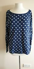 H&M Knitted Jumper/Sweater Spotty Blue