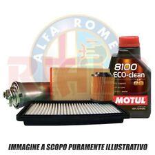 Kit Tagliando 5 Lt Motul 8100 Eco 5W30+filtri Alfa Romeo Giulietta 1.6 JTDm 77kw