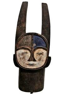 Festac Tribal Art-- Old Kwele Mask -- Gabon-- Fes-2510