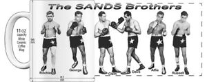 "AUSTRALIAN BOXERS - THE SIX SANDS BROTHERS - ""HIGH DETAILED"" COFFEE MUG"