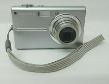 "Pentax Optio T20 Digital Camera Point & Shoot 7.0MP 3.0"" 3x OZ 4x DZ Silver"