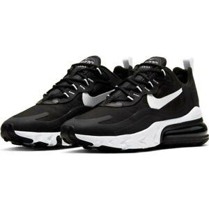 Nike W Air Max 270 React CI3899-002 Womens Size Casual Shoes Black/White-Black