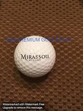 Logo Golf Ball-Mirassou Winery.Wine