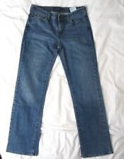 Size 28 Mom Blue Jeans LEVIS Denim Cotton Curve Straight Leg Mid rise