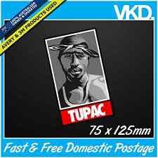Tupac Shakur Sticker/Decal - 2Pac Gangster Notorious B.I.G BIGGIE Beats RAP Car