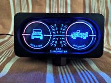 Inclinometro JEEP FUORISTRADA PANDA Toyota Renegade LADA 4X4 illuminato VINTAG