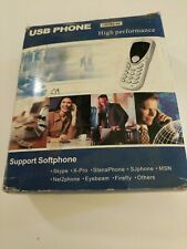 NEW ! USB PHONE high performance support soft phone....Skype..others