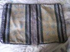 """Lovely Laura Ashley French Blue Floral Fabric 17"""" x  11"""" Cushion Cover"""