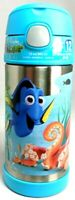 NEW! Disney Finding Dory Hank Nemo Thermos Funtainer Stainless Steel 12oz Bottle