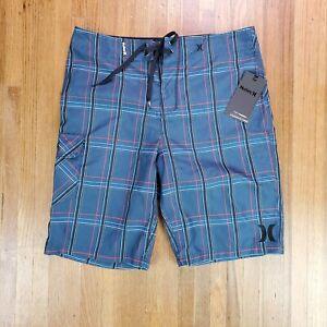 Hurley Mens Swim Shorts Sz 32 Swimming Board Swimsuit NEW NWT