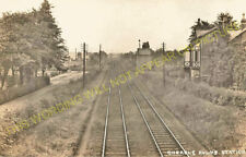Cheadle Hulme Railway Station Photo. Stockport to Handforth and Bramhall. (5)