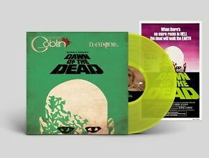 Dawn Of The Dead - Original Score - Lime Vinyl + Poster- Limited Edition- Goblin