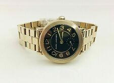 NEW Marc Jacobs Womens Watch Yellow Gold Tone SS Bracelet RILEY MJ3512 $225
