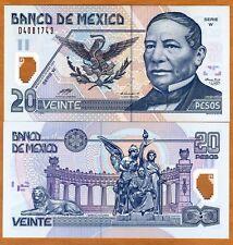 Mexico, 20 Pesos, 2003, Polymer P-116d W-Serie UNC