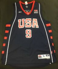 Reebok Team USA Olympics LeBron James NBA Jersey Men s SZ XL +2