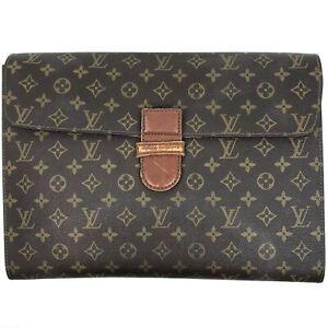 100% authentic Louis Vuitton Monogram Poche Ministre M53445 [Used] {04-0338}