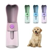 250Ml Pet Dog Cat Water Bottle Portable Feeder Water Drinking Bowl Small La F5W9