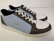 Lasoste STO 13 Blue Brown White Mens Shoes