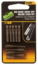 Fox Edges Big Bore Drop Off Inline Lead Kit CAC698 Inserts für Blei
