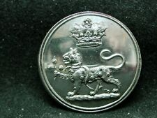 Marquess Of Bristol (Hervey) Leopard 27mm S/P Livery Coat Button Firmin 20th C